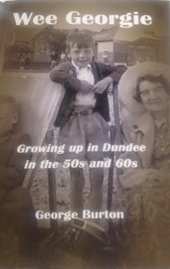 The front cover: Joe, me and Auntie Lizzie